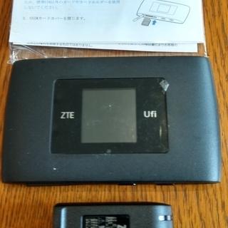 【SIMフリー】モバイルWi-Fiルーター/ZTE MF920S ②