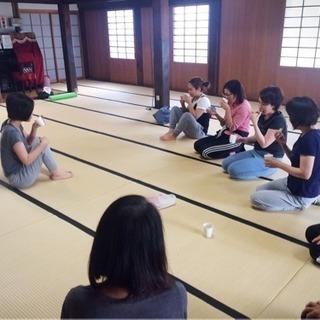 お寺ヨガ&体幹トレーニング in 西尾・安城 − 愛知県