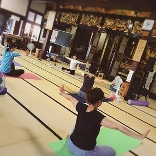 お寺ヨガ&体幹トレーニング in 西尾・安城 - 美容健康