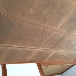 和室の天井にクロス貼りませんか?