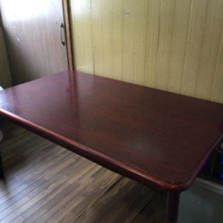 テーブル90cm*150cm 4人〜6人掛け 綺麗です 3,000円