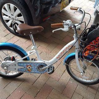 妖怪ウォッチ 16インチ子供用自転車➕子供用ヘルメット