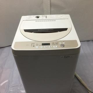 SHARP 洗濯機  ES-GE45R  4.5kg【2016年製】