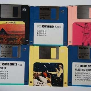 CASIO サンプラー FZ1 10M用のディスク