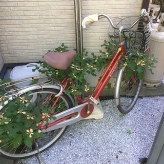 ジャンク品26インチ自転車