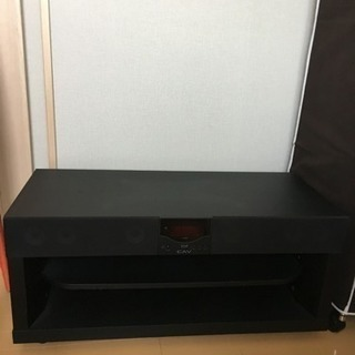 スピーカー付きテレビボード