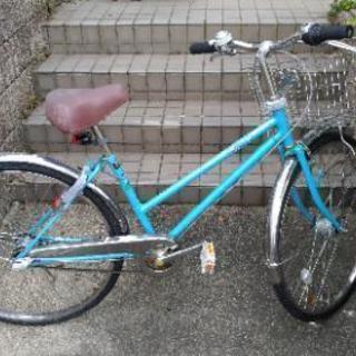 26インチ 3段変速自転車