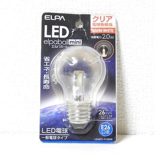 ELPA LED電球 エルパボールmini クリア電球色相当 WA...