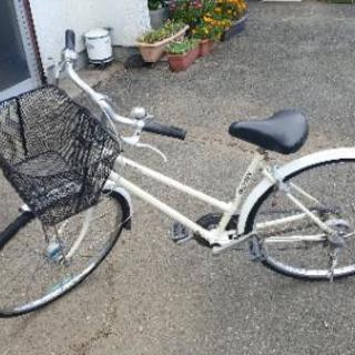 中古自転車 26インチ 3段切り替え ベルトタイプ