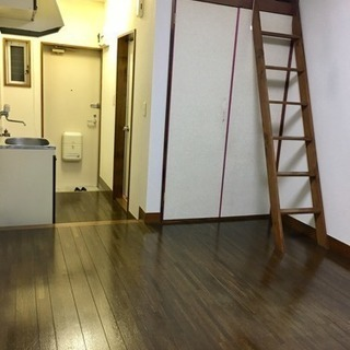 敷礼0円 アクアコート3 103号室 1R+ロフト DIY リメイ...