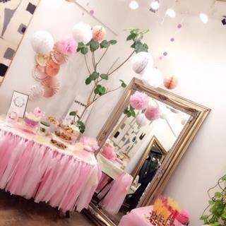 ママ必須!1DAYパーティーレッスン:簡単に可愛くホームパーティー装飾をしよう!の画像