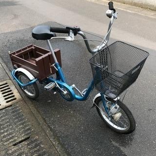 【お取引感謝】鹿児島発・発送不可・3輪自転車・サビ汚れあり・格安処...