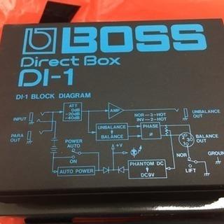 「BOSS DI-1 Direct BOX」値下げしました⤵︎