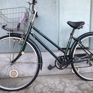 ギア付き中古自転車 27インチ