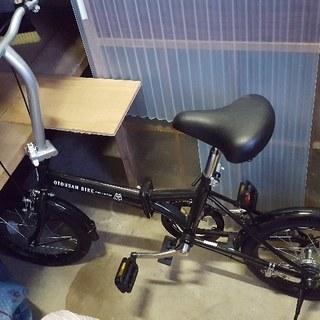 希少!お父さん自転車黒 美品