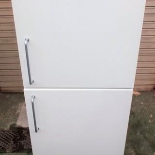 ☆MUJI 無印良品 東芝 M-R14C 137L 2ドア冷凍冷蔵庫◆明るい良品計画の画像
