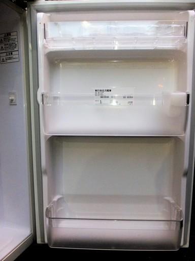 MUJI 無印良品 東芝 M-R14C 137L 2ドア冷凍冷蔵庫◇明るい良品
