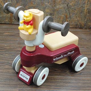 プーさん 喋る! 四輪車 綺麗です! 乗り物 中古品