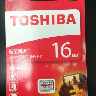 東芝microSDHC UHS-I カード 16GB クラ…