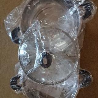 《新品》ステンレス製2段蒸し器