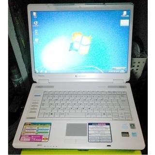 東芝 dynabook TX/66A Windows7
