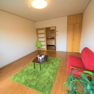 🌺家賃1ヶ月無料🎉岐阜市内🌸駐車場1台無料🌈洗濯機冷蔵庫付🎉