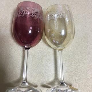BOHEMIA(ボヘミア)デザイン ワイングラス(ペア)