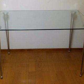 (お話中)ガラステーブル