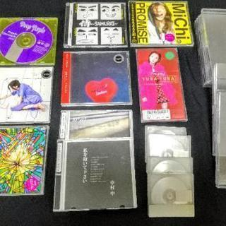 中古CD各種、シングルCDケース、未使用MD