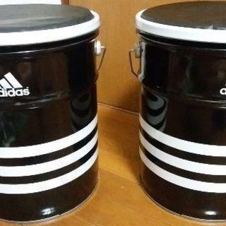 アディダス缶 二缶セット