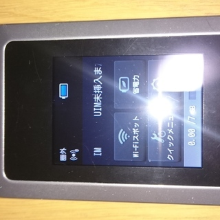 Wi-Fi Walker WiMAX2+ HWD14 美品