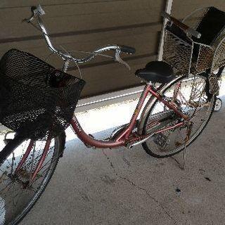 【ジャンク】 自転車(ママチャリ)