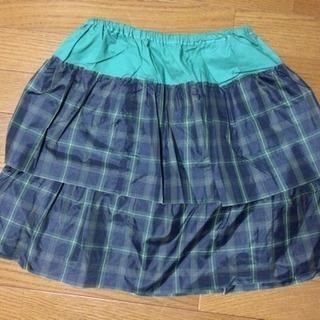 ☆美品☆仮装にオススメ!緑色スカート4枚組