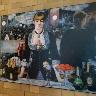 絵画ポスター マネ「フォリー・ベルジェールのバー」