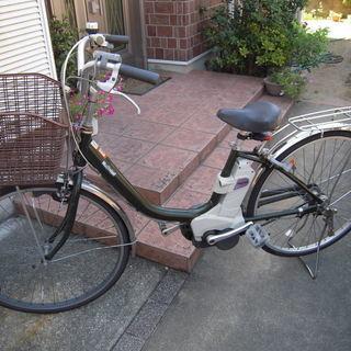 ナショナル 電動アシスト自転車 26インチ