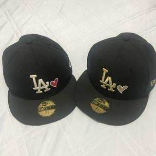 ニューエラ 59FIFTY キャップ ハート MLB LA