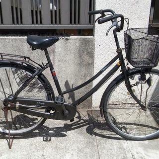 (お話中)26インチ自転車ブラック(乗れます)
