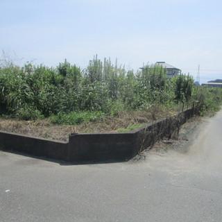 グランド、広域の敷地の草刈り福岡