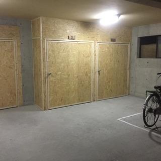 札幌市東区栄町 バイクガレージ貸します! − 北海道