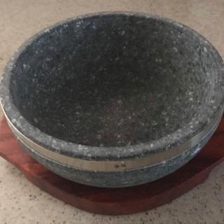 高級 石焼き鍋+トレー 未使用