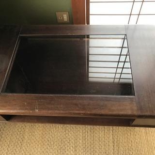 ガラステーブル(応接台)