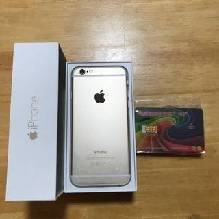 ☆iPhone6 64GB au☆SIMロック解除アダプター付♬