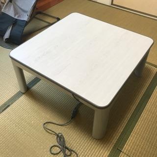 譲り先決まりました!こたつテーブル
