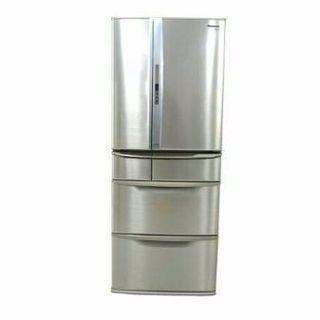 Panasonicノンフロン冷凍冷蔵庫 470リットル フレンチド...