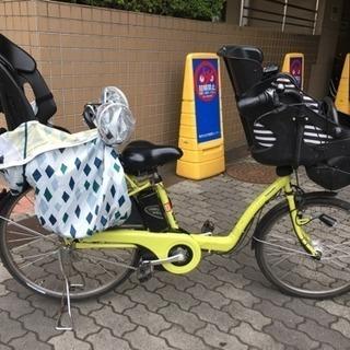 【交渉中】子供乗せ電動自転車 3人乗り