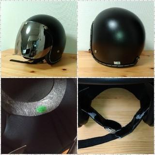 タチバナ 立花 ヘルメット ブラック - バイク