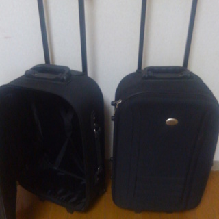 【早い者勝ち】スーツケース2個 ※無料でお譲りします(1個でも対応可)
