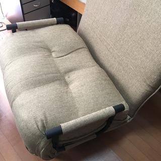 【美品】リクライニングソファーチェアー