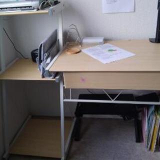 パソコンデスク 学習机 テーブル