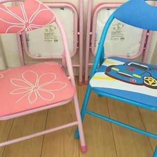 キッズパイプ椅子 パイプチェア 折りたたみ椅子